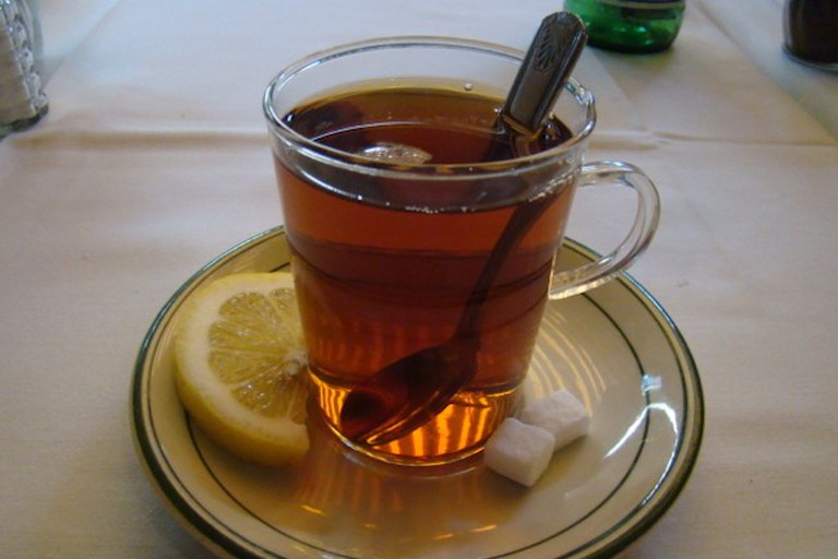 Persian tea at Raffi's