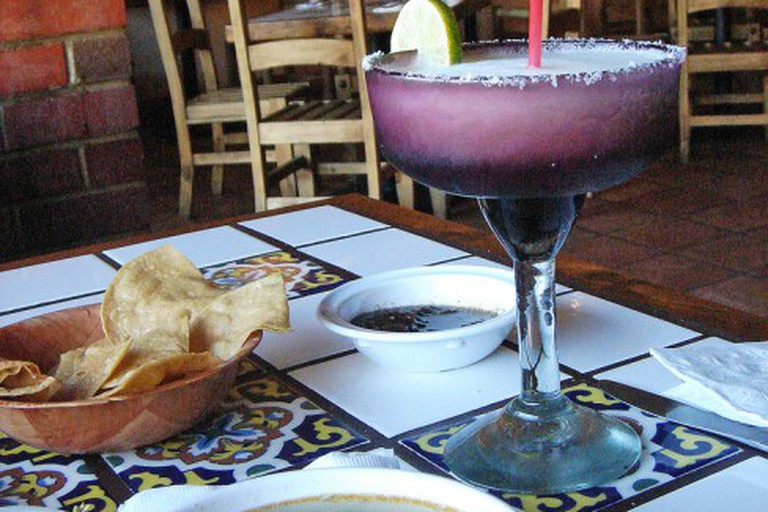 A delicious meal at La Cabañita
