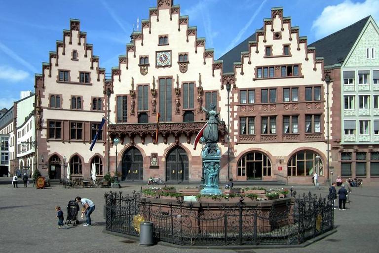 Römerberg, the heart of medieval Frankfurt