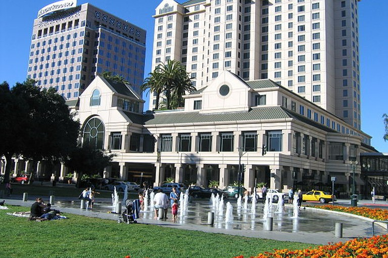 The Fairmont Hotel in San Jose