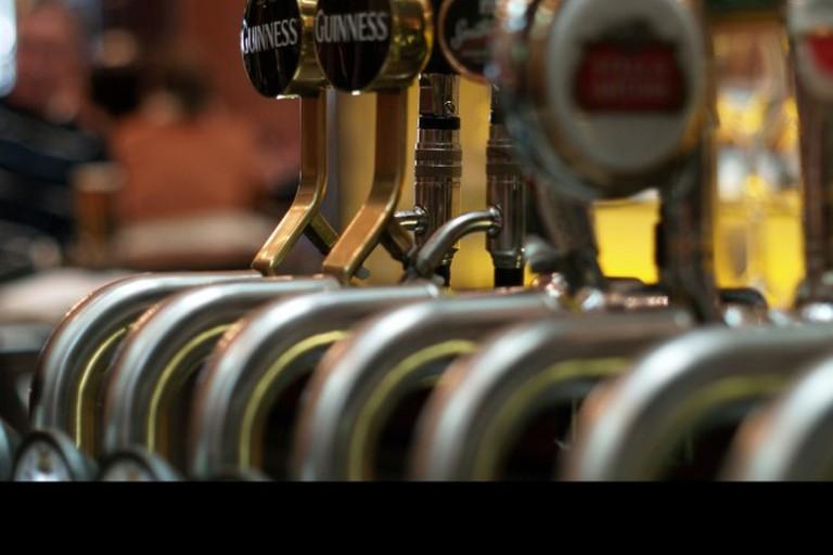 Belgian and Irish brews on tap