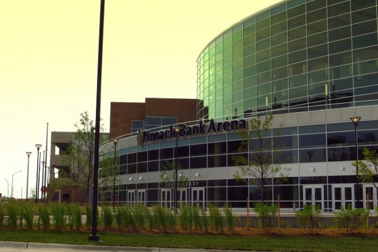 Pinnacle Bank Arena in the Haymarket District
