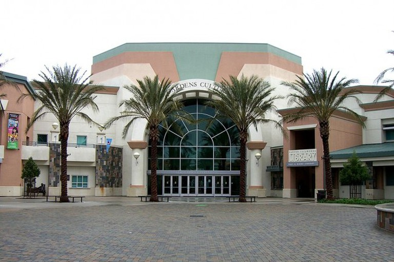 Victoria Gardens Cultural Center and Library in Rancho Cucamonga