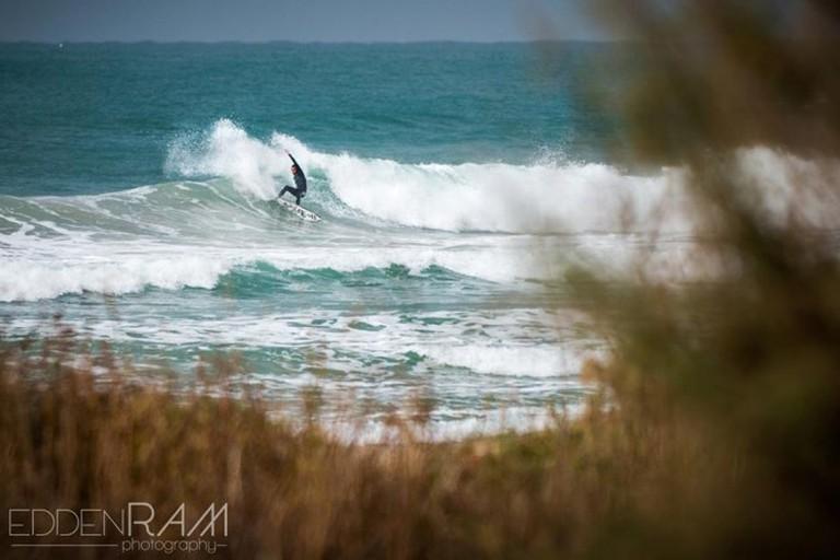 Surfer in Israel