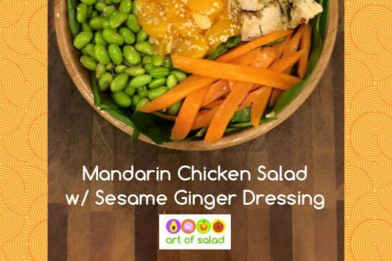 Art of Salad's signature Mandarin salad