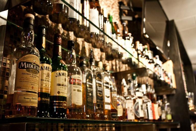 Buddha Beer Bar's Irish Whiskey Collection