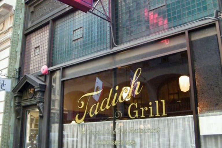 Tadich Grill Sign and Exterior