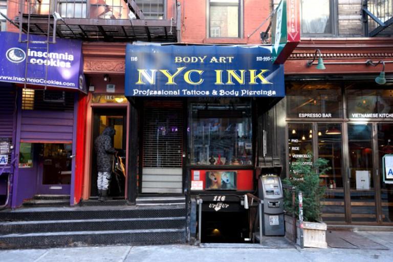 The Gas Light Café, now a tattoo shop