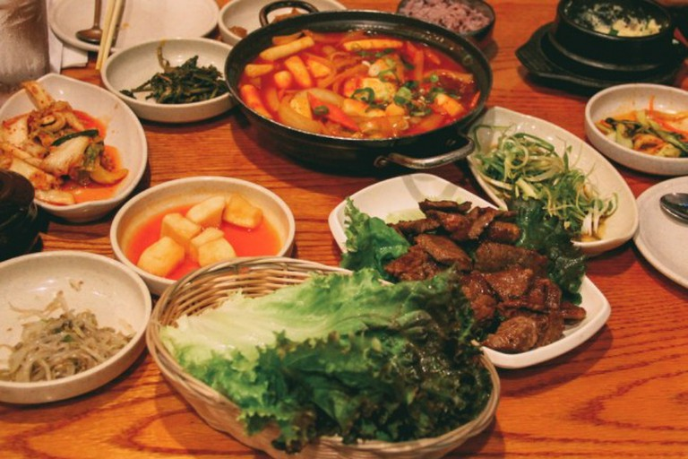 Korean Food Sampling