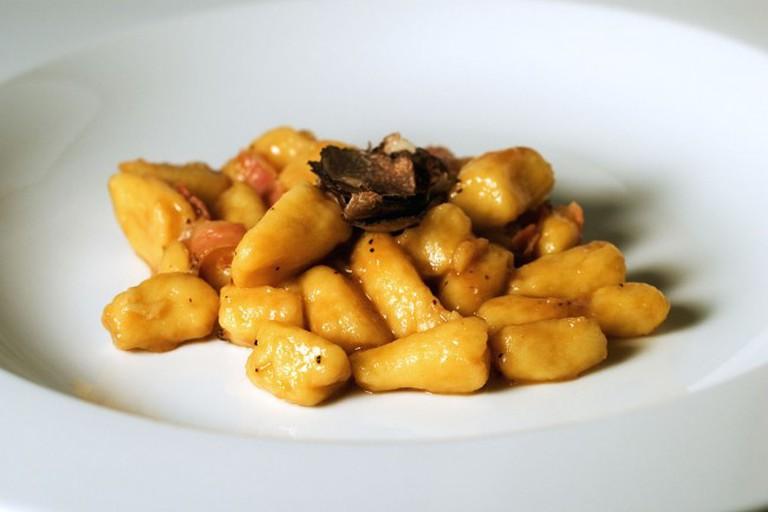 Gnocchi med trøfler