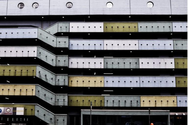 car park at müllerstraße, berlin