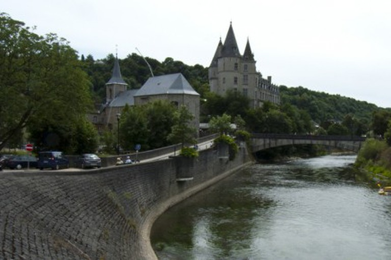 Durbuy with the river Ourthe
