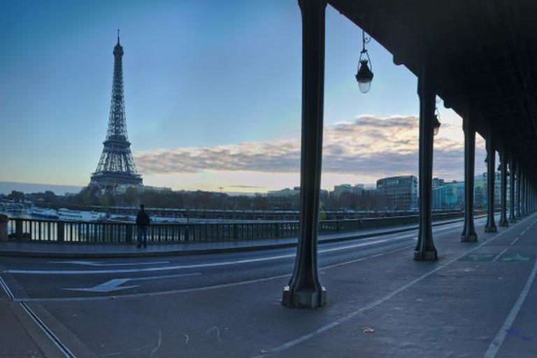 View from Bir Hakeim