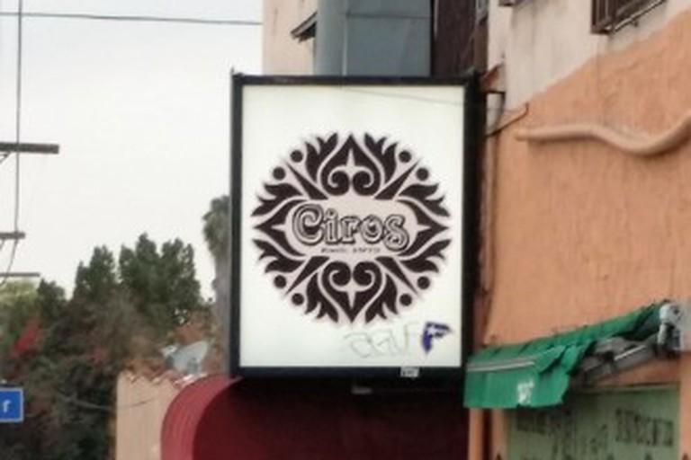 Ciro's on Evergreen Avenue