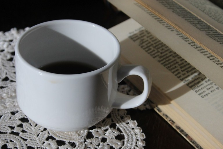 Coffee with a book
