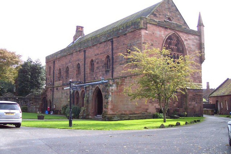 The priory at Carlisle Cathedral