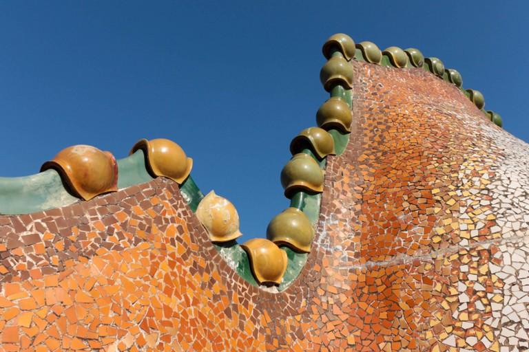 Casa Batlló, Roof Terrace