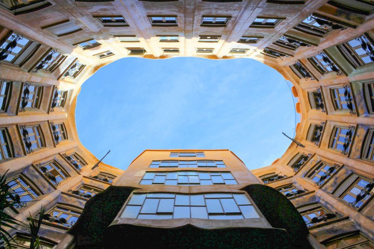Casa Milà (La Pedrera), Inner Courtyard