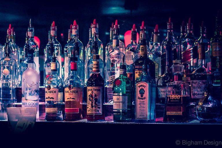 Top Shelf Beer/Liquor from Bar