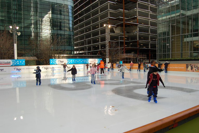 Open Air Ice Rink