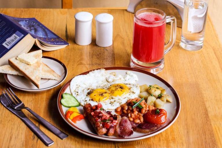 Full English Breakfast | 154 Breakfast Club, Koramangala