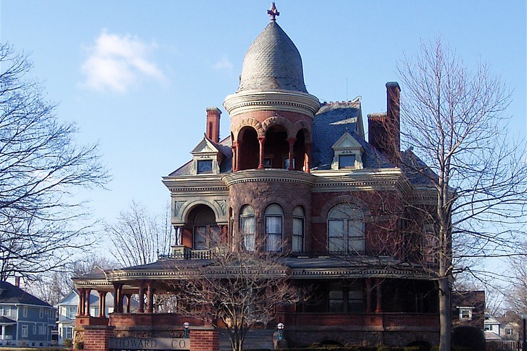 Seiberling Mansion in Kokomo