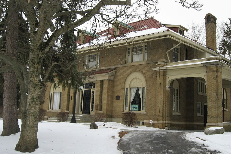Elwood Haynes House in Kokomo