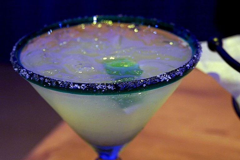 Any good Mexican restaurant must have a good margarita