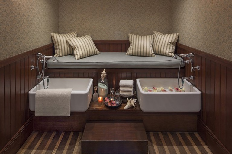 ONE the Spa treatment room