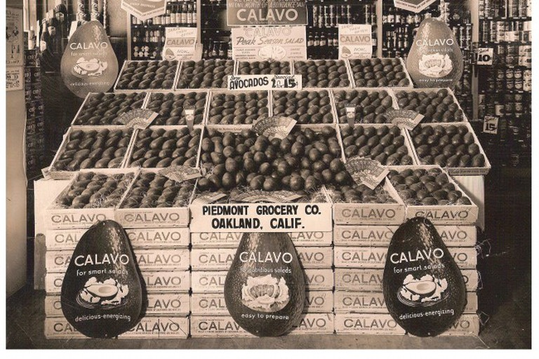 Piedmont Grocery Store display from the 1900s