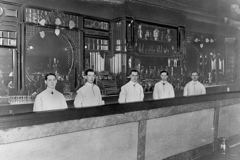Prohibition-Era bar