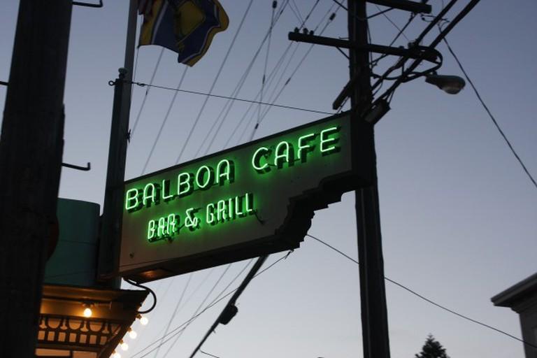 The Balboa Cafe