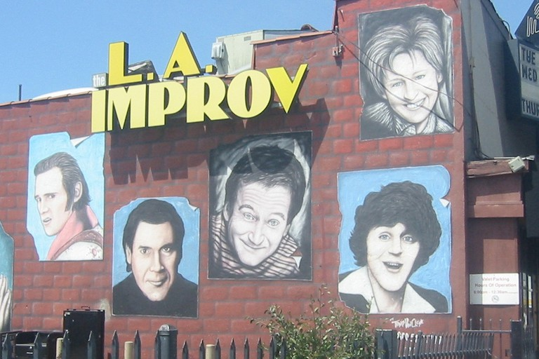 The Improv Comedy Club on Melrose Avenue in Hollywood, California