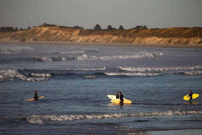 Surfing in Port Fairy