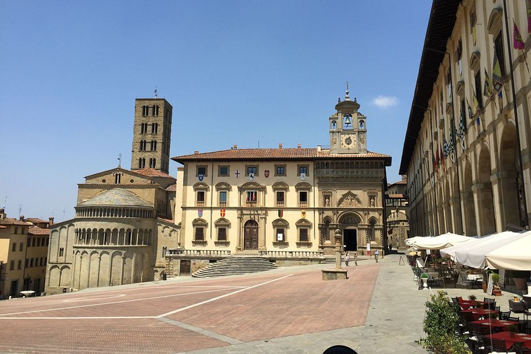 Another view of the Piazza Grande