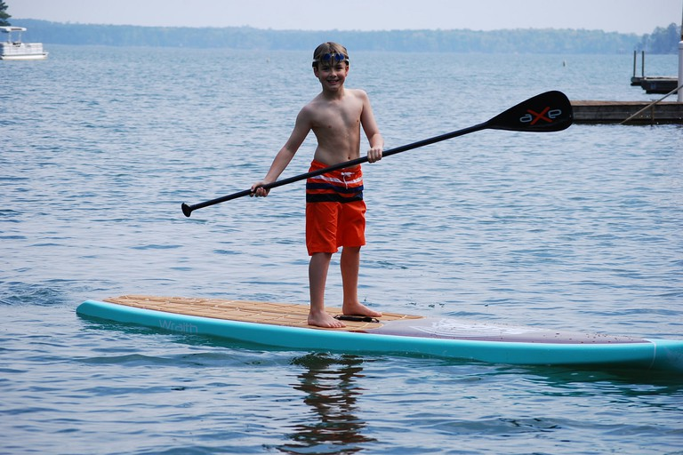 Paddleboarding is fun for all ages