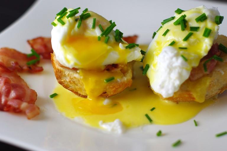 Œufs Benedict / Eggs benedict