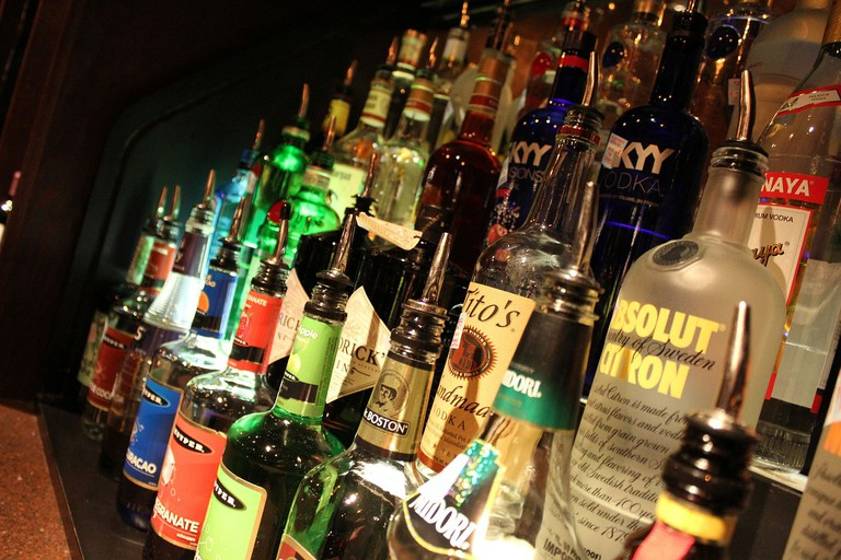 Alcohol Rows