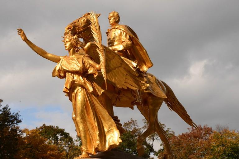 General Sherman Statue Central Park