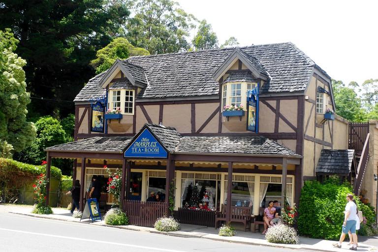 Miss Marple's Tearoom, Sassafras