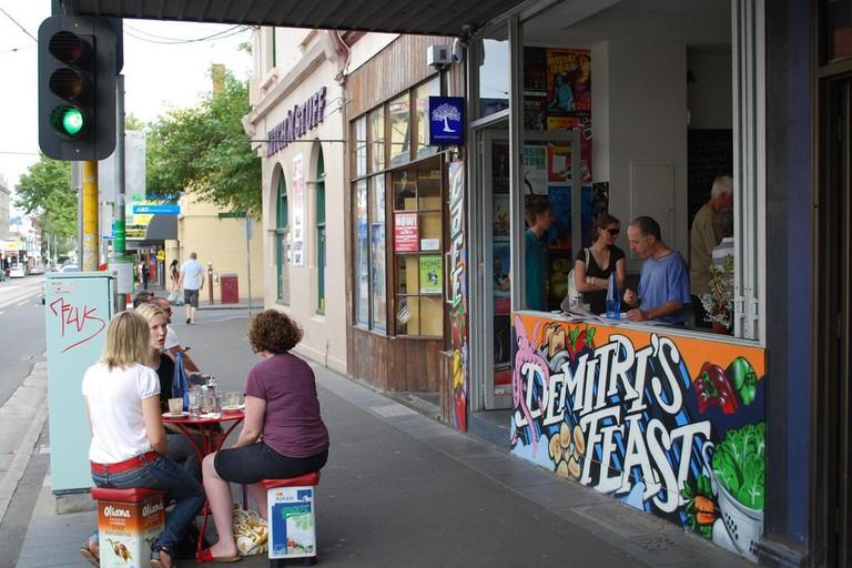 Shopfront - Demitri's Feast