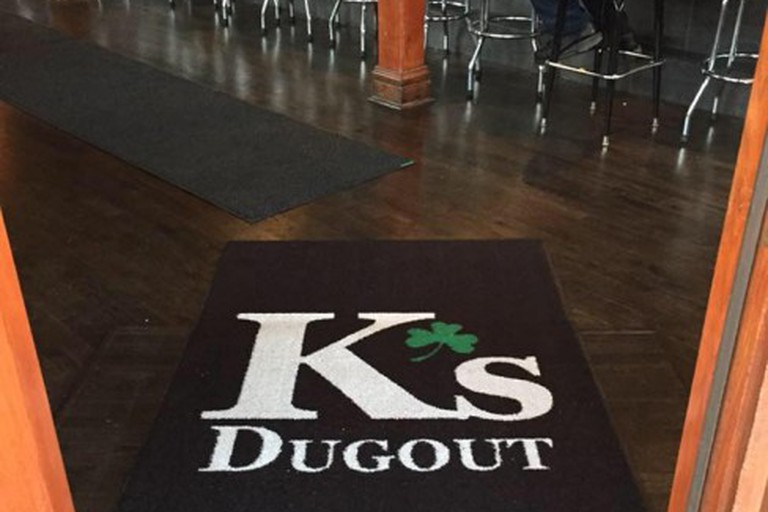 The entrance to K's Dugout