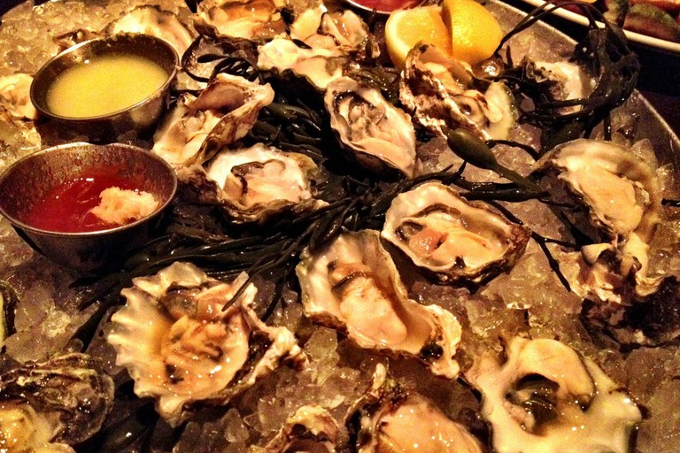 Kumamoto Oysters at River Oyster Bar