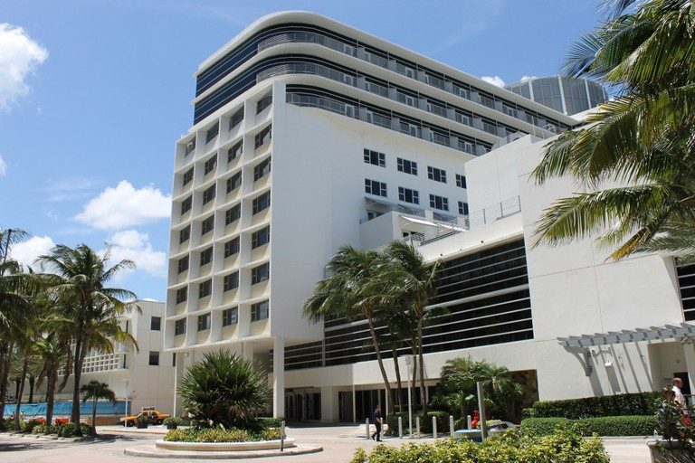 The building formerly known as the Di Lido building in South Beach, Miami