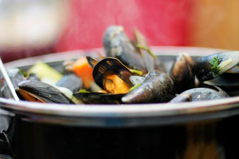 Mussel Inn Seafood Restaurant, Edinburgh
