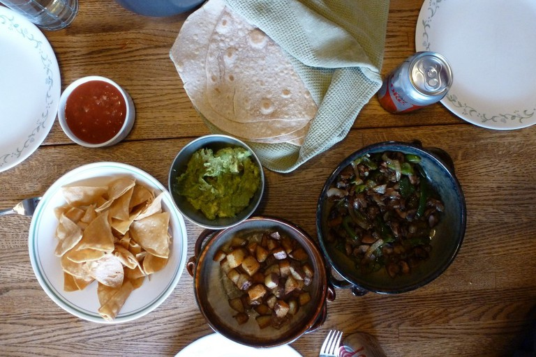 A Mexican feast