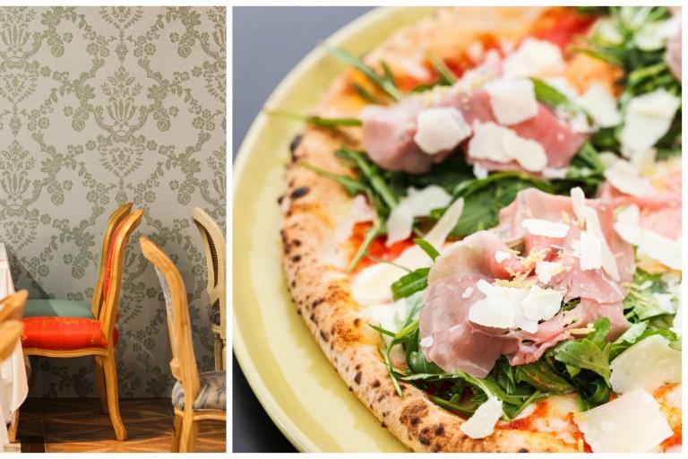 Interior of Pizza Massilia Ruam Rudee And One Of Their Signature Pizza