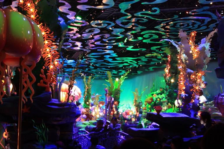 Triton's Kingdom at Mermaid Lagoon, Tokyo DisneySea