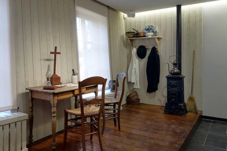 Van Gogh's house in Cuesmes