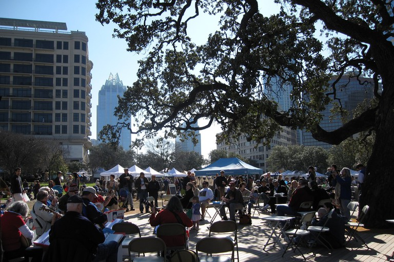 SFC Farmers' Market Downtown, Guadalupe Street